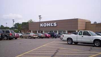 Kohl'sThursday 6 p.m. until Friday midnight
