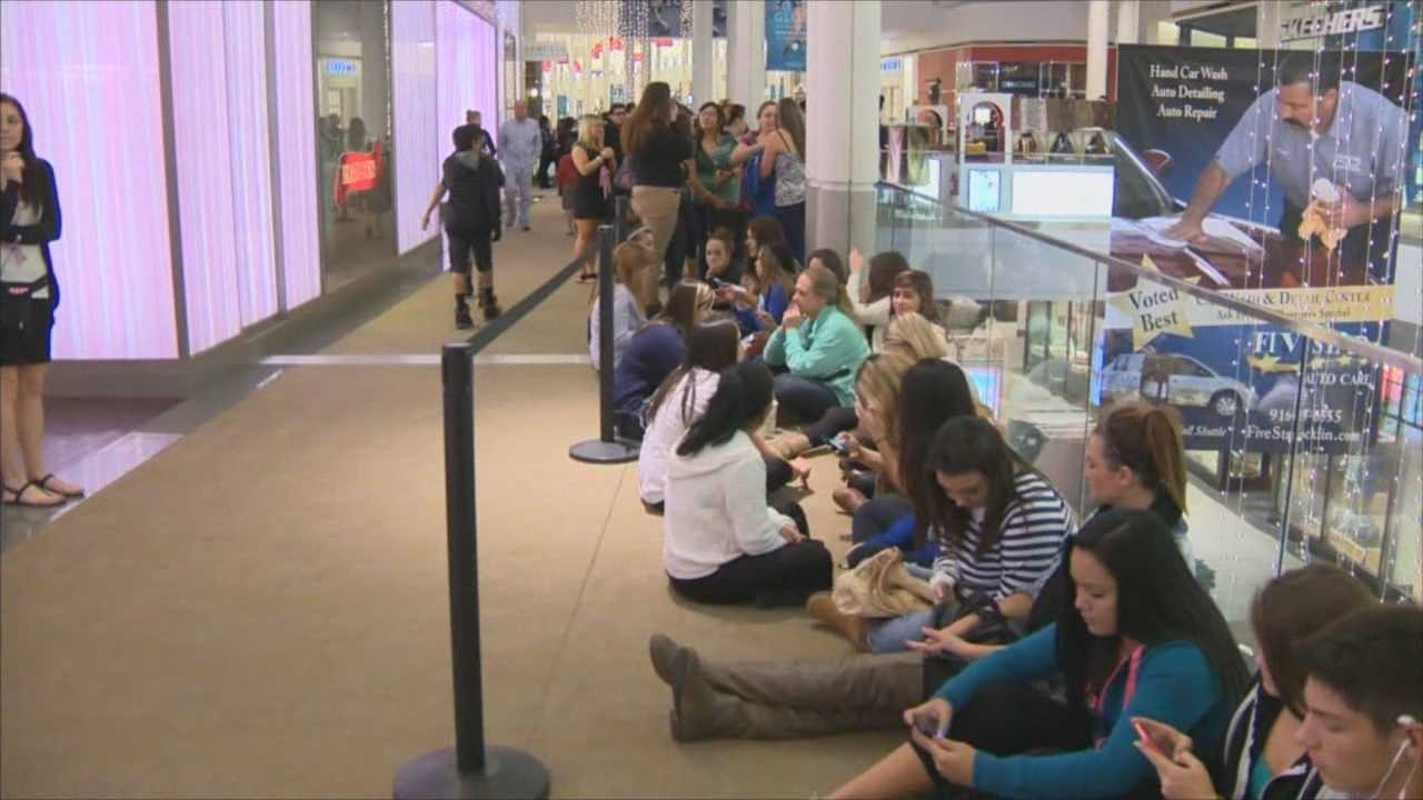 Local malls are opening a day before Black Friday.
