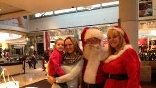 Santa Claus at Roseville Galleria