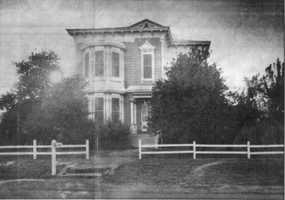 Jacob Hyman was one of the leading merchants of Folsom and built this two-story house on Figueroa Street in 1881.