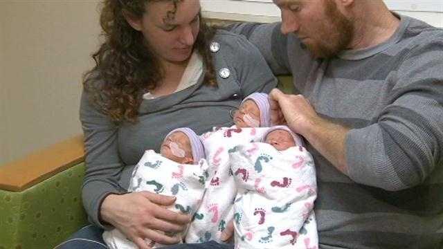 The Hepner babies (Dec. 4, 2013)