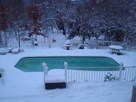 A winter morning wonderland. (Dec. 7, 2013)