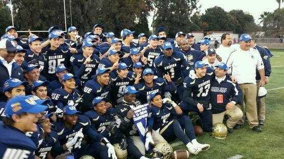 Central Catholic won the Division IV Sac-Joaquin Section championship.