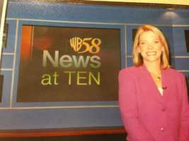 8. You may not remember, but in 2005, I started doing the weather on the 6 p.m. and 10 p.m. news. About a year and half later, I switched to the morning shift.