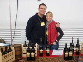 11. My husband, Justin, is a fourth-generation winemaker. His family's winery is in El Dorado County, Boeger Winery. I am lucky enough to travel to events and dinners with him. Good thing -- I really like wine!