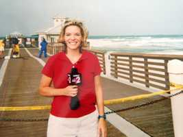 22. I have covered nearly a dozen hurricanes between my time behind the scenes at ABC News and while working on-air in Florida.