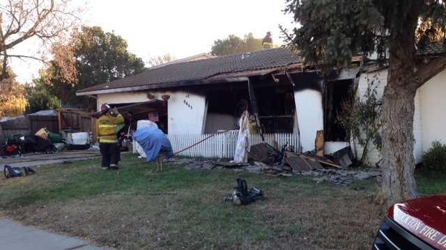Stockton house fire