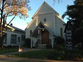 Trinity Episcopal Church was built in 1862 and cost about $4,000 to construct.