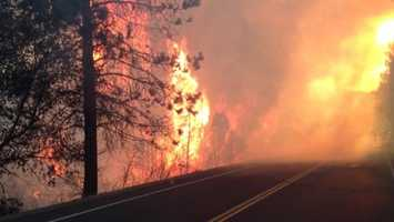 U.S. Forest Service officials announced full containment of the Rim Fire nearly two months after the fire started in August. The fire burned 400 square miles and destroyed 11 residences, three commercial properties and 98 outbuildings.
