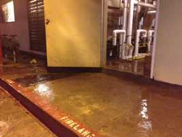 About 50 residents at a Sacramento nursing home were evacuated after a water main break early Friday morning.