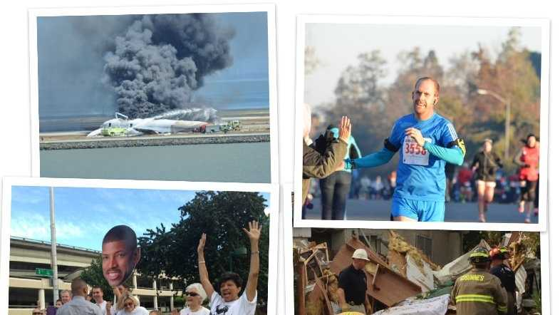 Click through this slideshow to view images from the top news stories in Northern California during 2013.