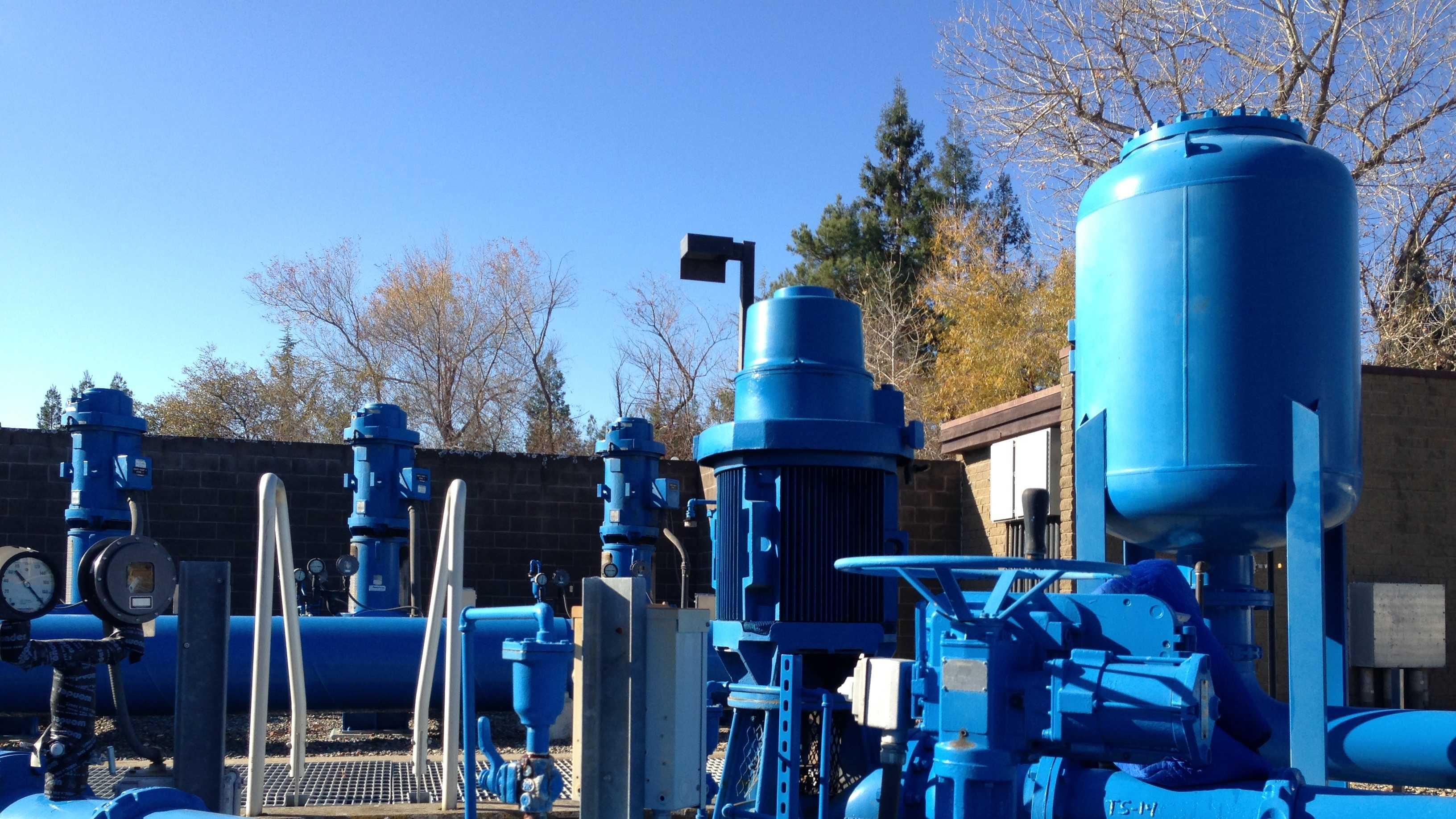 Folsom Water Pumping Plant