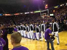 The Sacramento Kings and their fans had a rough off-season of not knowing whether the team was staying in Sacramento. The arena was packed full to support the Kings during the 2013 home opener.