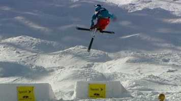 The Sprint U.S. freestyle championships were held at Heavenly Ski Resort in March and featured some of the nation's top skiers.