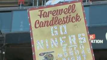 KCRA was at the San Francisco 49ers' final regular-season home game at Candlestick Park as players and fans said goodbye to the team's longtime home. The 49ers will move to Levi Stadium in Santa Clara next season.