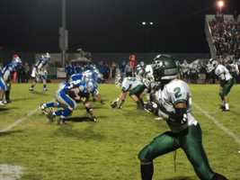 In high school football, one big rivalry was between the Manteca Buffaloes and the Sierra Wolverines. Manteca went on to play in the 2013 CIF NorCal Regional playoffs.