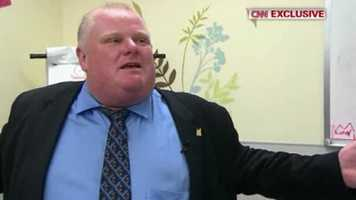 Naughty: Toronto Mayor Rob Ford