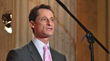 Naughty: Anthony Weiner