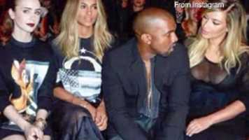 "Naughty: Kanye West and Kim Kardashian, better known as ""Kimye"""