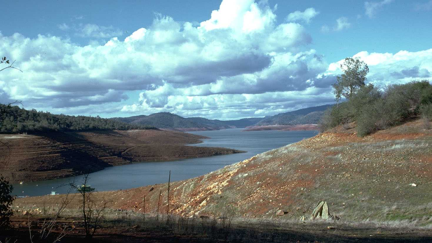 1976-77 drought Lake Shasta