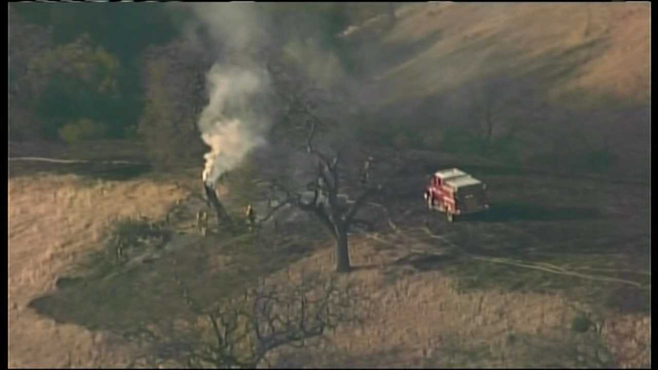 Cal Fire warns of January wildfire danger
