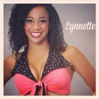 Meet Lynnette, and go here to see more photos of the 49ers' Gold Rush cheerleaders.