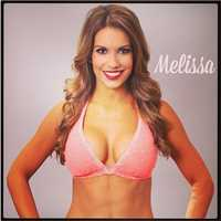 Meet Melissa, and go here to see more photos of the 49ers' Gold Rush cheerleaders.