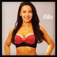 Meet Mika, and go here to see more photos of the 49ers' Gold Rush cheerleaders.