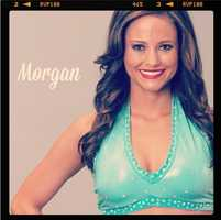 Meet Morgan, and go here to see more photos of the 49ers' Gold Rush cheerleaders.