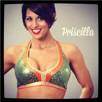Meet Priscilla, and go here to see more photos of the 49ers' Gold Rush cheerleaders.