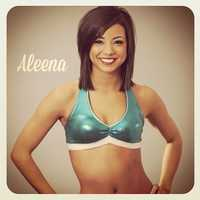 Meet Aleena, and go here to see more photos of the 49ers' Gold Rush cheerleaders.