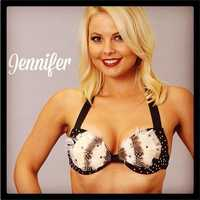 Meet Jennifer, and go here to see more photos of the 49ers' Gold Rush cheerleaders.