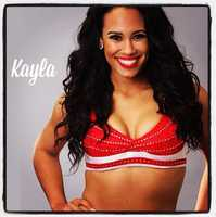 Meet Kayla, and go here to see more photos of the 49ers' Gold Rush cheerleaders.