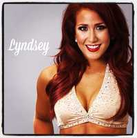 Meet Lyndsey, and go here to see more photos of the 49ers' Gold Rush cheerleaders.
