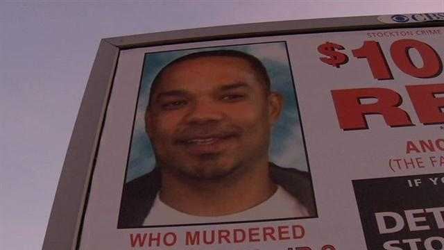 Stockton homicide billboard