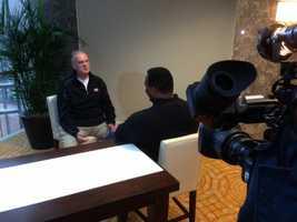 KCRA's Del Rodgers interviews 49ers' quarterback Colin Kaepernick's dad.