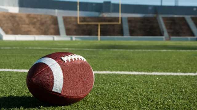 Football on field blurb