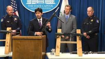"""We're even beginning to see an emerging industry and market for untraceable and undetectable ghost guns,"" de Leon said."