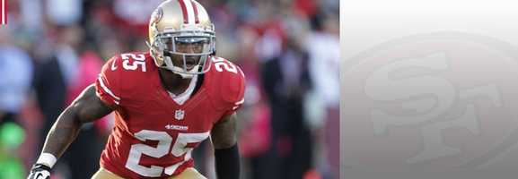 Cornerback Tarell Brown will have the responsibility of keeping Seahawks receivers Golden Tate and Doug Baldwin in check. Read bio