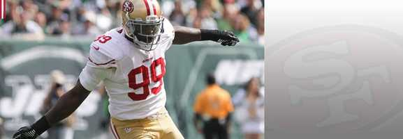One of the top pass rushers in the league, if Aldon Smith is causing havoc in the Seahawks' backfield on Sunday, it could be a long day for Russel Wilson and Co. Read bio.