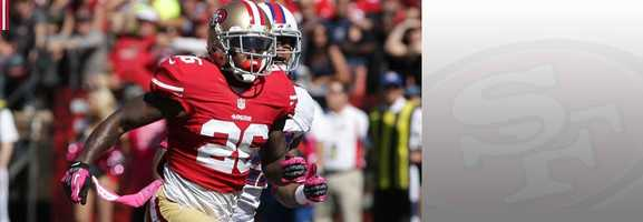 Cornerback Traimaine Brock has come up big during the Niners' playoff run while filling in for starter Carlos Rogers. Brock could be paired against Seahawks receiver Golden Tate on Sunday, which means he will need to keep calm and not let Tate, who always has something to say, get under his skin. Read bio.