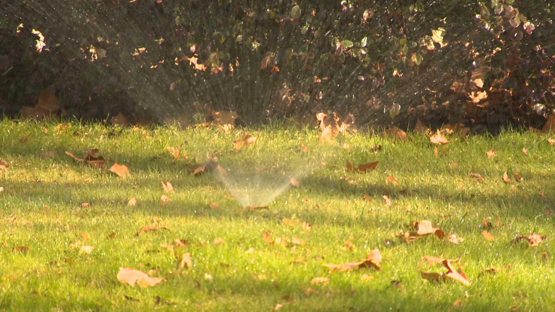Water Reduction sprinklers
