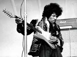 One of the most famous people born in Seattle: Jimi Hendrix.