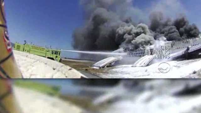 Asiana crash new video