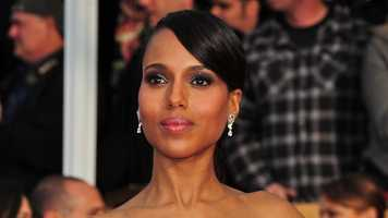 """The leading lady of """"Scandal,"""" Olivia Pope, er, Kerry Washington, is married to former Niners cornerback Nnamdi Asomugha. So, this must make her a fan, right? It was a short stint with the team, but we think it's possible."""