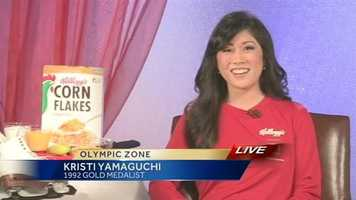 Olympic phenom Kristi Yamaguchi, also from the Bay Area, told ESPN's Page 2 that she cheers for the Niners.