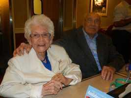 Nicolas and Rafaela Ordaz, of Tracy, celebrated their 80th wedding anniversary, and Nicolas celebrated his 100th birthday.