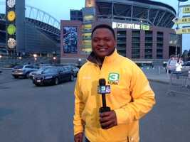 Del Rodgers is live from CenturyLink field in Seattle, site of the NFC Championship game.