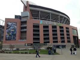CenturyLink field, home to the Seattle Seahawks.