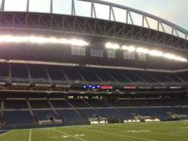A photo of CenturyLink Field in Seattle.